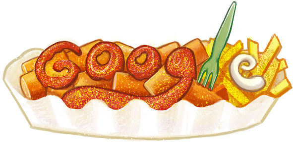 currywurst google doodle