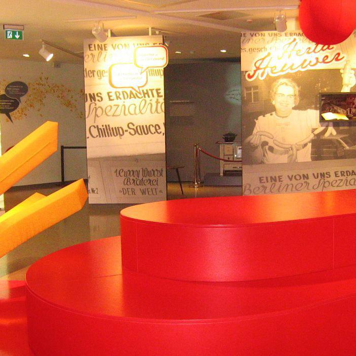 currywurst museum interior