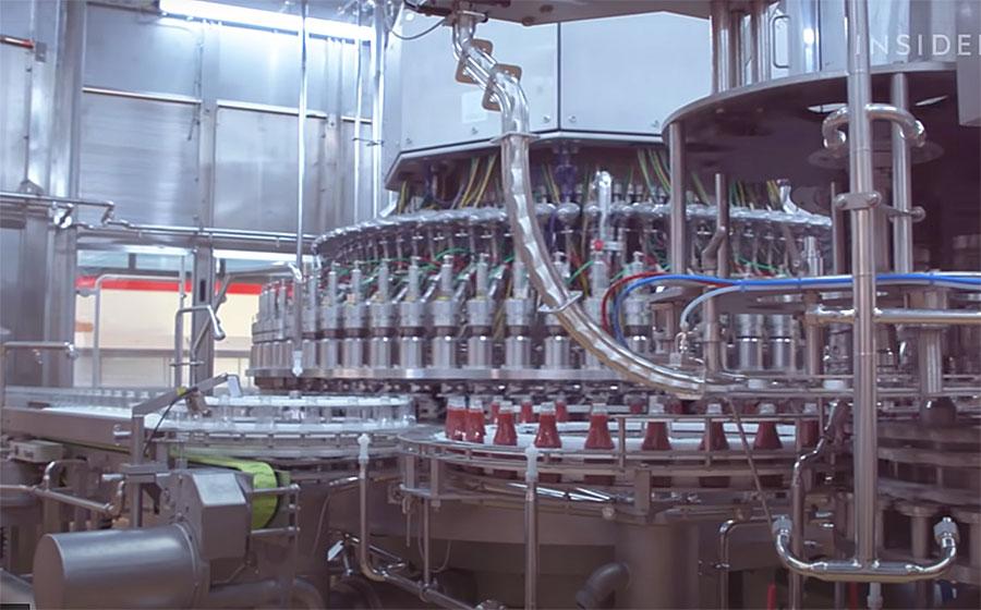 ketchup factory machines